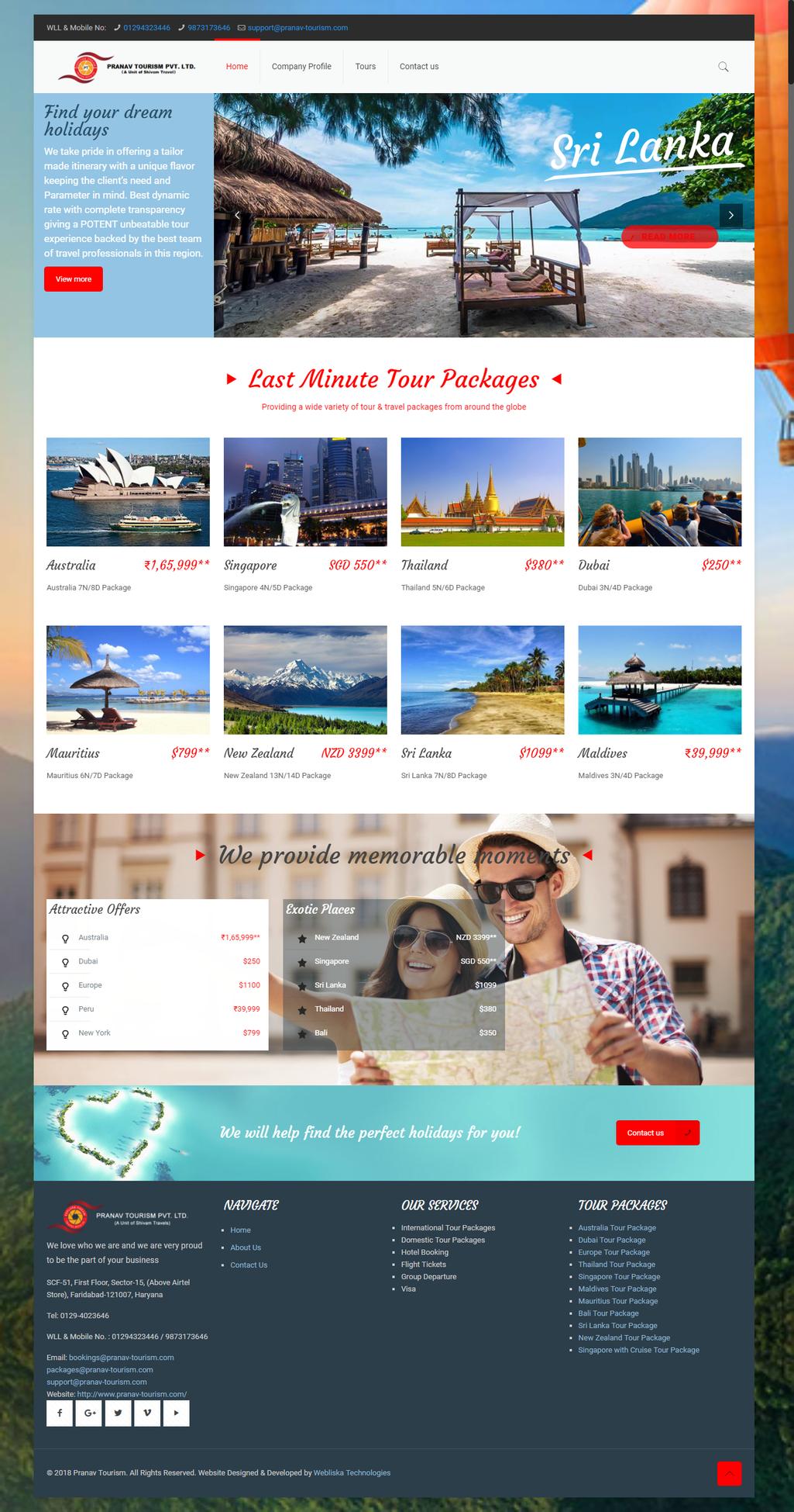 pranav tourism